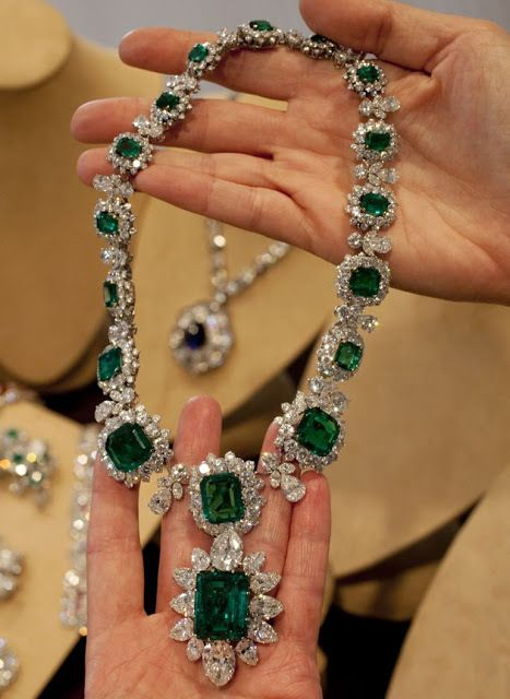 Part of Elizabeth Taylor's Emerald Collection