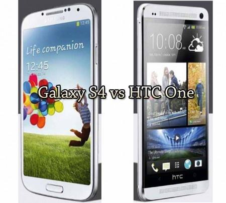 Galaxy S4 vs HTC One ..
