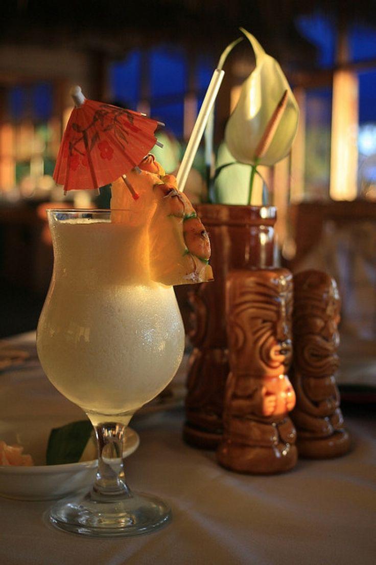 Pina colada analcolica: ricetta con ananas e latte di cocco