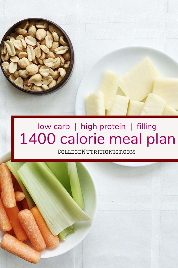 1400 Calorie High Protein Low Carb Meal Plan With Pizza The College Nutritionist 1400 Calorie Meal Plan Protein Meal Plan Vegan Meal Plans
