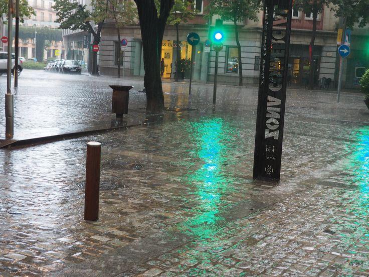 Llueve en Gerona - Plou a Girona