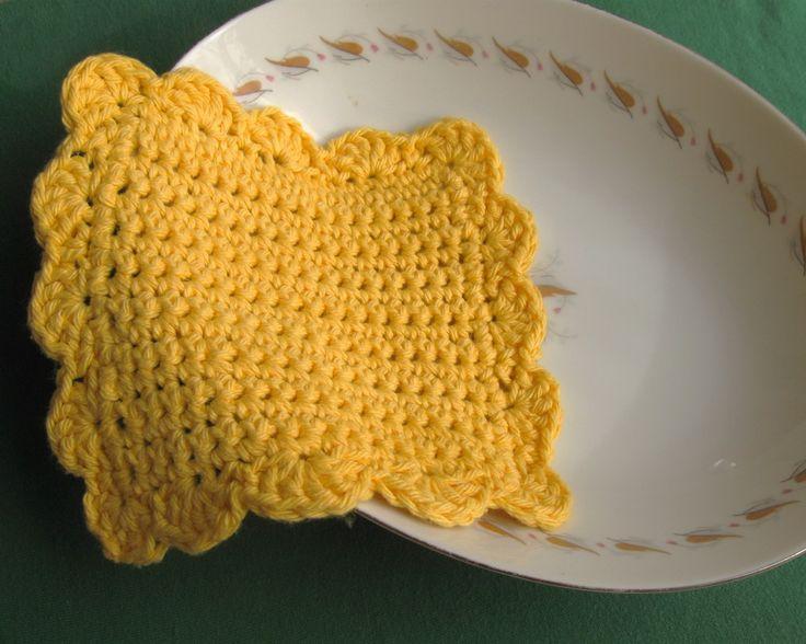 Free Crochet Square Patterns | CROCHET DISH RAGS PATTERNS | Crochet Patterns