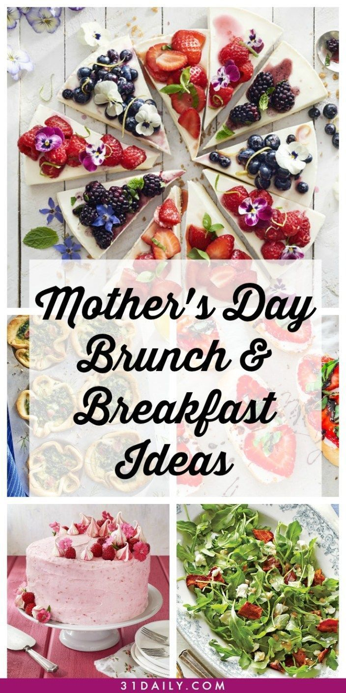 Mothers Day Breakfast And Brunch Recipes Breakfast Ideas