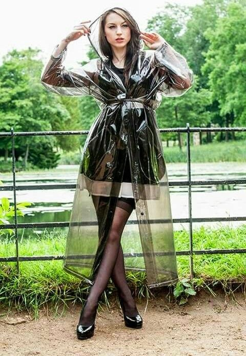 Vinyl Raincoat, Clear Raincoat, Plastic Raincoat, Pvc Raincoat, Rain Coats,  Transparent Raincoat, Rain Wear, Clear Umbrella, Latex Outfit