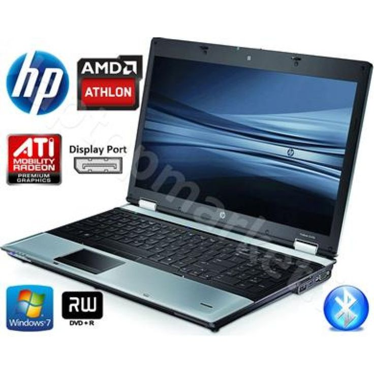 "HP 6555b 15.6"" 2.30GHz 4GB DDR3 250GB DVD-RW WiFi Metallic Grey Laptop"