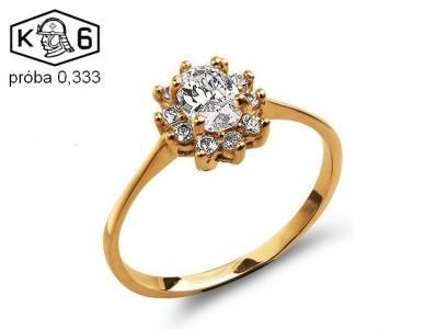 Kup teraz na allegro.pl za 302,00 zł - Pierścionek zaręczynowy cyrkonia złoto 333 (5587609556). Allegro.pl - Radość zakupów i 100% bezpieczeństwa dla każdej transakcji!