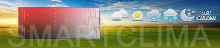 Thermodynamic Solar Panel - http://www.smartclima.com/thermodynamic-solar-panel.htm