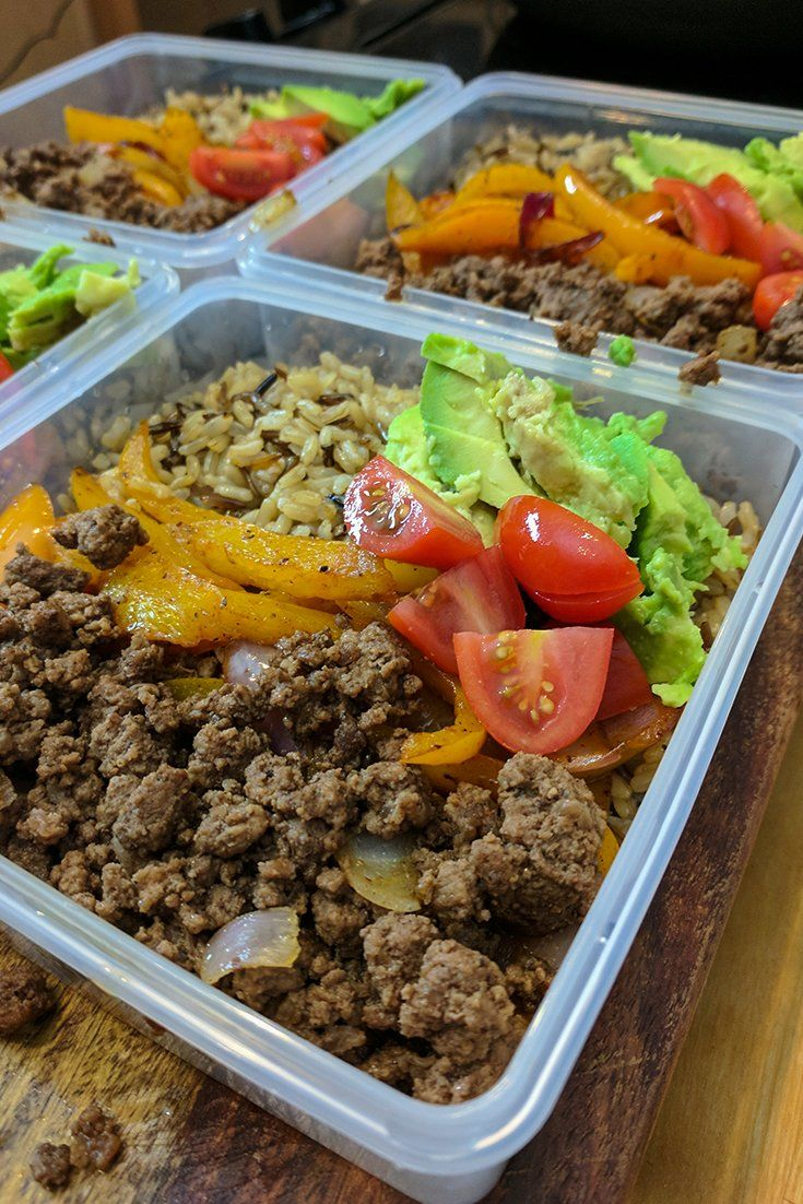 Ground Beef Fajita Bowl Bodybuilding Com Recipe Meal Prep Bowls Macro Meals Pasta Nutrition