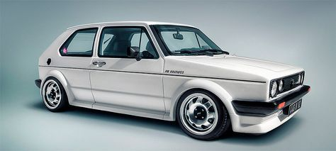 VW Golf Mk1 from ABT - car tuning history