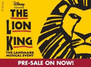Disney Presents The Lion King (Australia)Tickets http://www.ticketmaster.com.au/Disney-Presents-The-Lion-King-Australia-tickets/artist/820969?brand=tm_link=search_rv_name1
