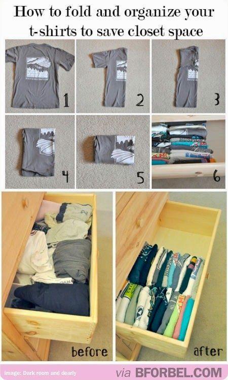 Yan Saflina: Mudah Untuk Isteri : Teknik Menyimpan Baju dalam L...