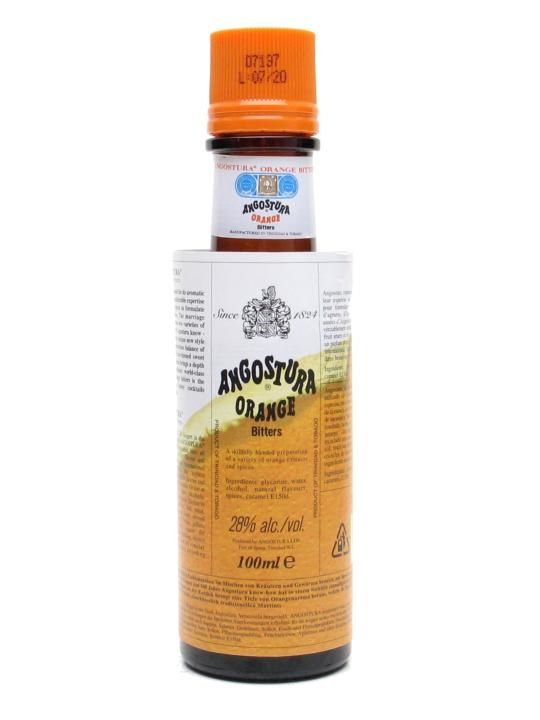 A massive success since their arrival in 2007, these orange bitters are only the second Angostura Bitters ever made since the appearance of the original bitters in 1824.