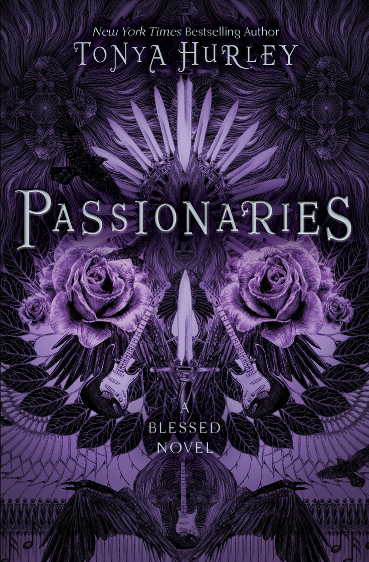 Passionaries (the Blessed #2) €� Tonya Hurley Cover By Abbey Watkins