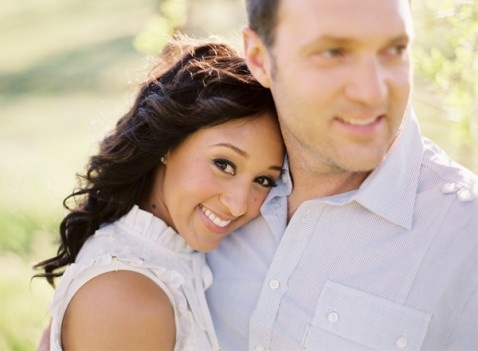 Tamera Mowry and Adam Housely