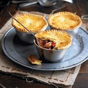 Smoky chicken and bean pot pies with a cornmeal crust Recipe | delicious. Magazine free recipes