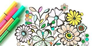 Make Your Day Bright And Beautiful With These Coloring Pages From Book