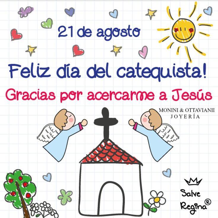 Hoy celebramos el Día del Catequista, en conmemoración al Papa Pío X, que fue santificado, impulsó la enseñanza del Catecismo, y también hizo posible impartir los sacramentos a los niños.   El Papa Pío X permitió la comunión diaria a todos los fieles y cambió la costumbre de la primera comunión: para que los niños pudieran recibirla a partir de los 7 años.   La misión de los catequistas es : irradiar la Fe.  Feliz día  catequistas que siempre con su amor nos acercan a JESUS.