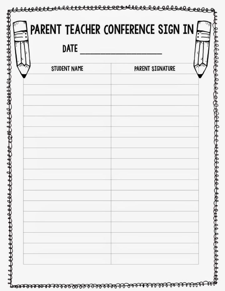 parent teacher meeting report template - 1000 images about 3rd grade room on pinterest