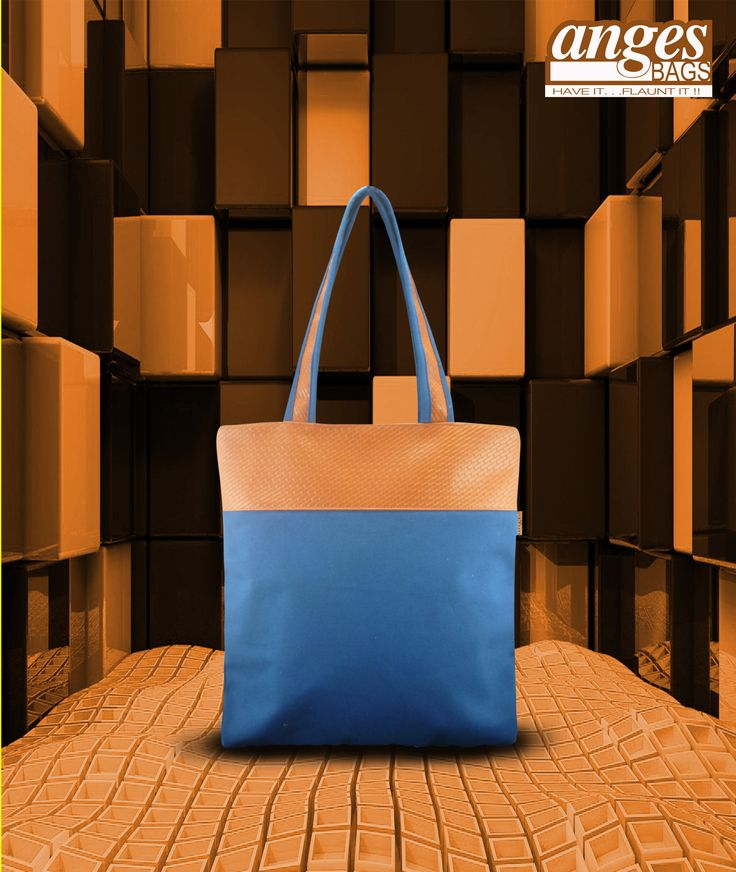 Simple yet fashionable tote for the girl next door