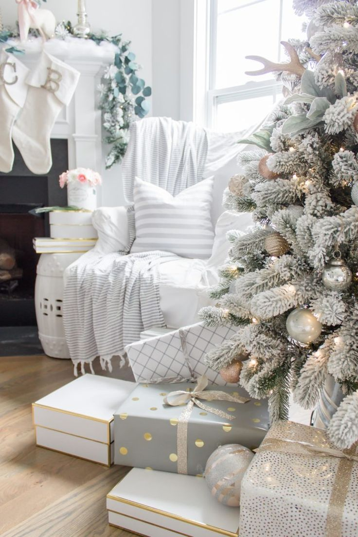 Charming Iu0027m Dreaming Of A White Christmas Home Tour 2017 | Part IV Family Room
