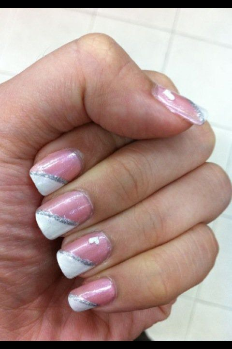 1000+ Ideas About Diagonal Nails On Pinterest