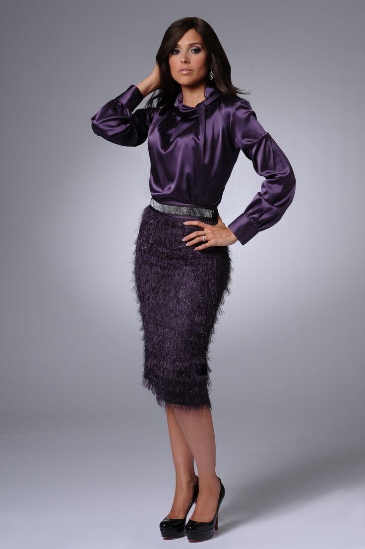 purple satin blouse skirts and tops satin