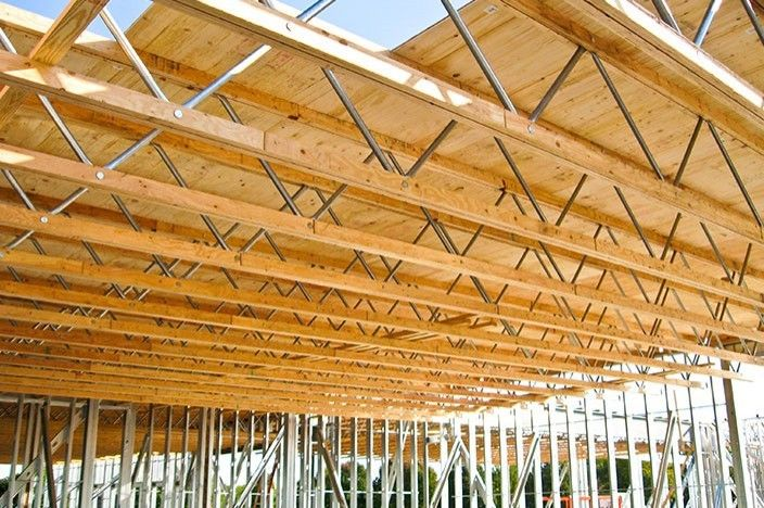 Parallel chord truss design google search roof truss for Open web truss