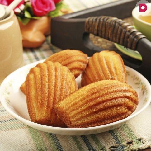 Популярные французские бисквитные печенья в форме морских <br /> гребешков. Готовятся очень быстро, а результат получается <br /> ошеломляющий.