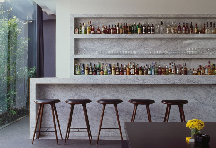 High Stool by Space for a fancy and elegant bar.