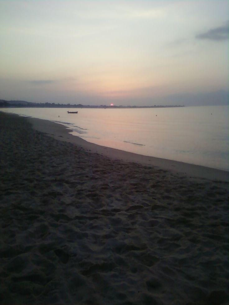 солнце встает...
