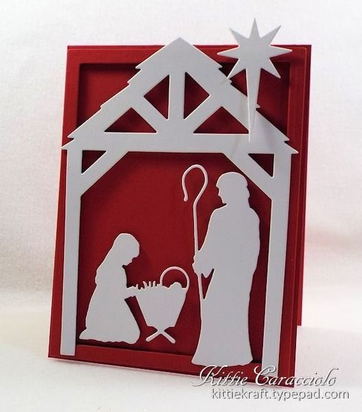 diy silhouette christmas cards 157 best cards impression obsession images on 4262