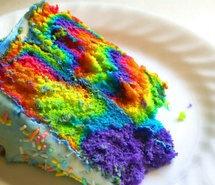 cooooool: Desserts, Colors Cakes, Wedding Cakes, Rainbows Cakes, Bright Cakes, Tye Dyes, Kid, Ties Dyes Cakes, Birthday Cakes