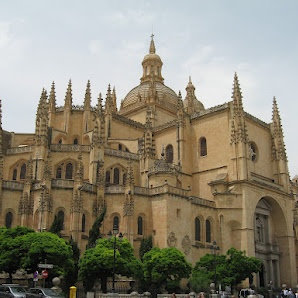 Segovia, Spain   Amazing Gothic Style Cathedral