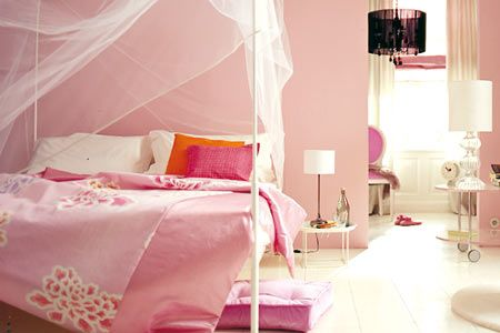 Schlafzimmer in Rosa - Wohnwelten in Pastellfarben 10