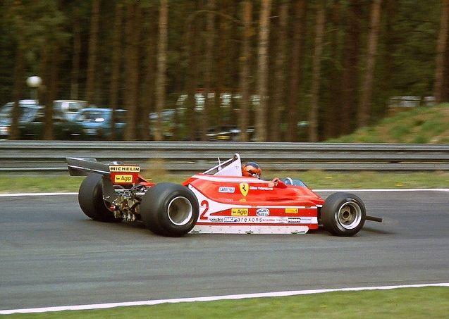 Gilles Villeneuve, Ferrari 312T4, 1979 Belgian GP, Zolder