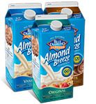 Almond Breeze Almond Milk ( I use it for everything from baking to cooking to breakfast)