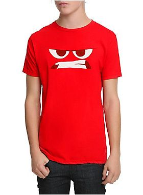 Vibrant red T-shirt from Disney Inside Out