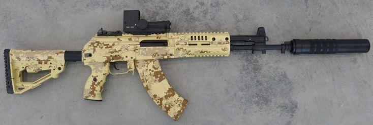 Modern Firearms - Kalashnikov AK-12 and AK-15 assault rifle (Russia)
