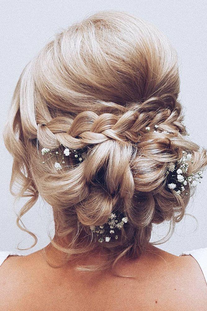 30 Pretty Cool Rustic Wedding Hairstyles Wedding Forward Medium Hair Styles Hair Styles Veil Hairstyles