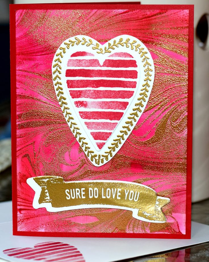 511 best Stampin up - Valentines images on Pinterest