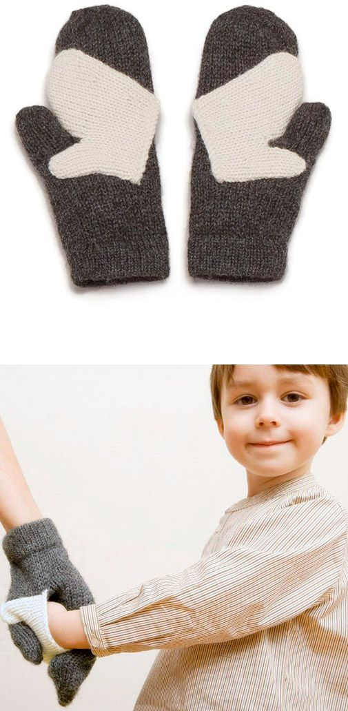 hold my hand mittens
