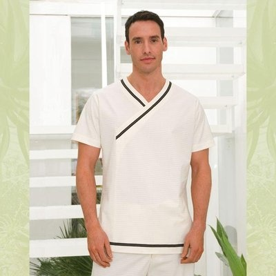 Pin de asma elmernissi en uniforme spa spa uniform mens for Uniform spa therapist