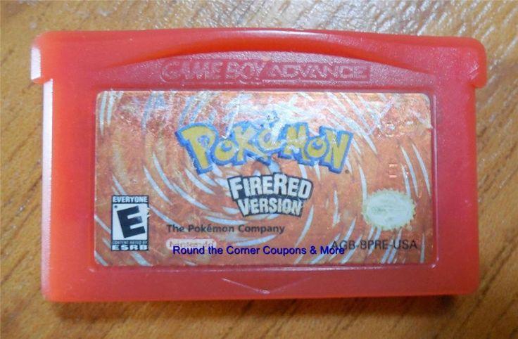 Pokemon: FireRed Version (Nintendo Game Boy Advance, 2004) Cartridge Only