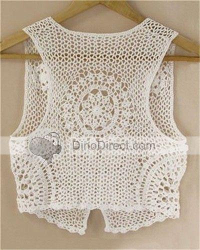 Free Crochet Patterns To Print | CROCHET A VEST | Crochet For Beginners