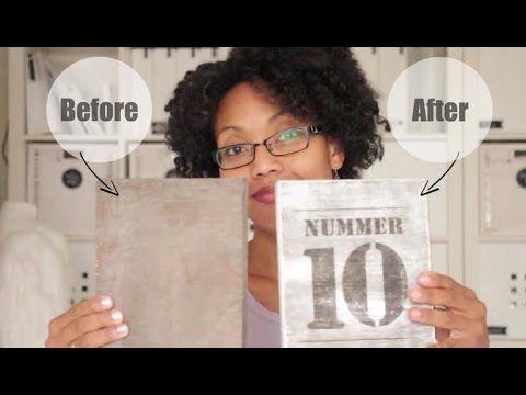 Transfermarker DIY: Maak Snel een Houten Naambordje voor jouw Huis - Karin Joan
