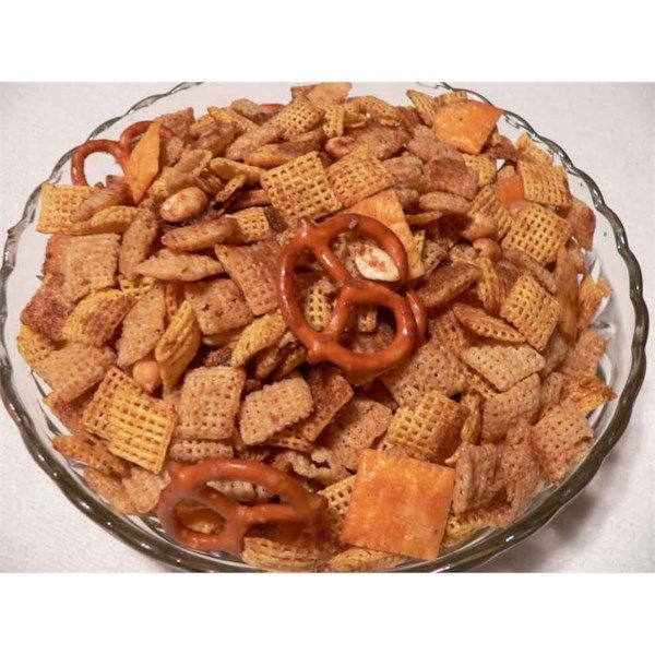 """Toasted Party Mix   """"This was a very good snack mix. The seasoning is mild, but tasty."""""""