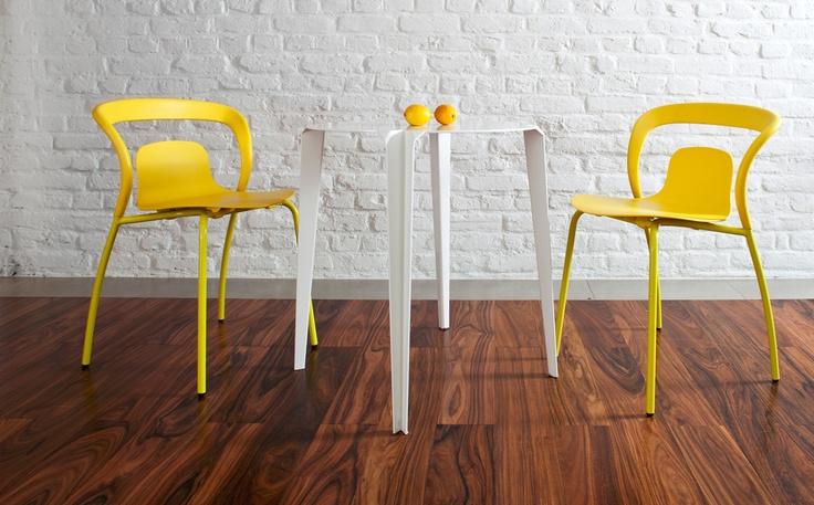 Einn Chair, Tres Table. Interior Design! Ames.
