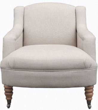 Castleton Chair - Fabric / Colour: Dawson Dove Grey - Chairs