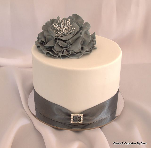 silver wedding cakes single tier 19 best single tier wedding cake images on 19892