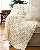 Bernat Softee Chunky Cable Blanket